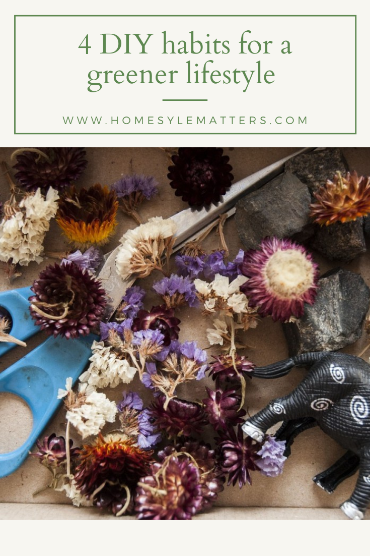4 DIY Home Habits for a Greener Lifestyle 1