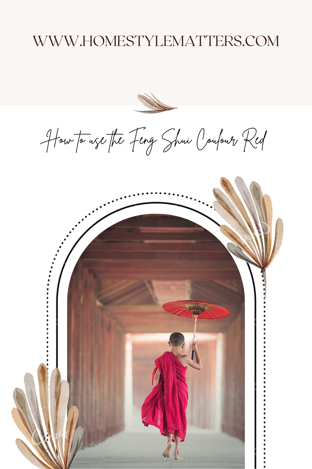How to use the Feng Shui colour red 5