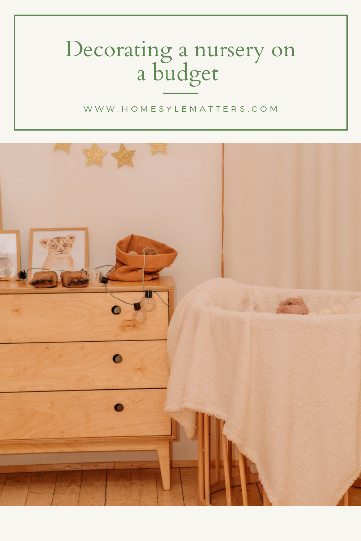 Decorating a nursery on a budget 4