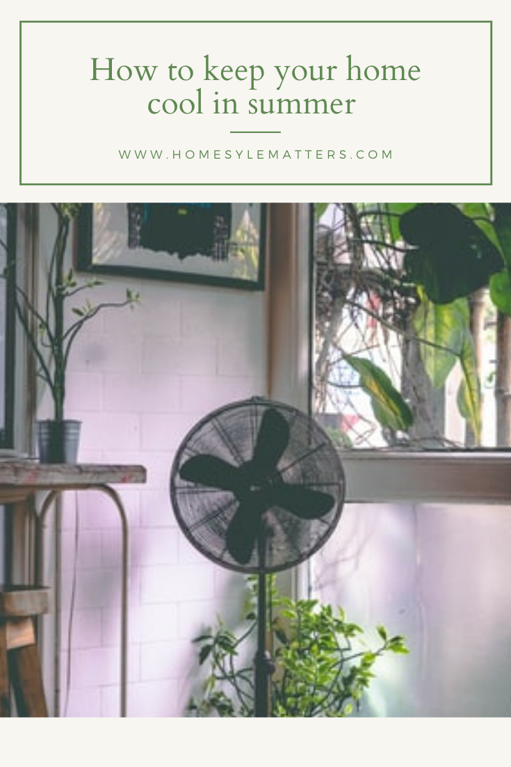 How to keep your home cool in summer 3
