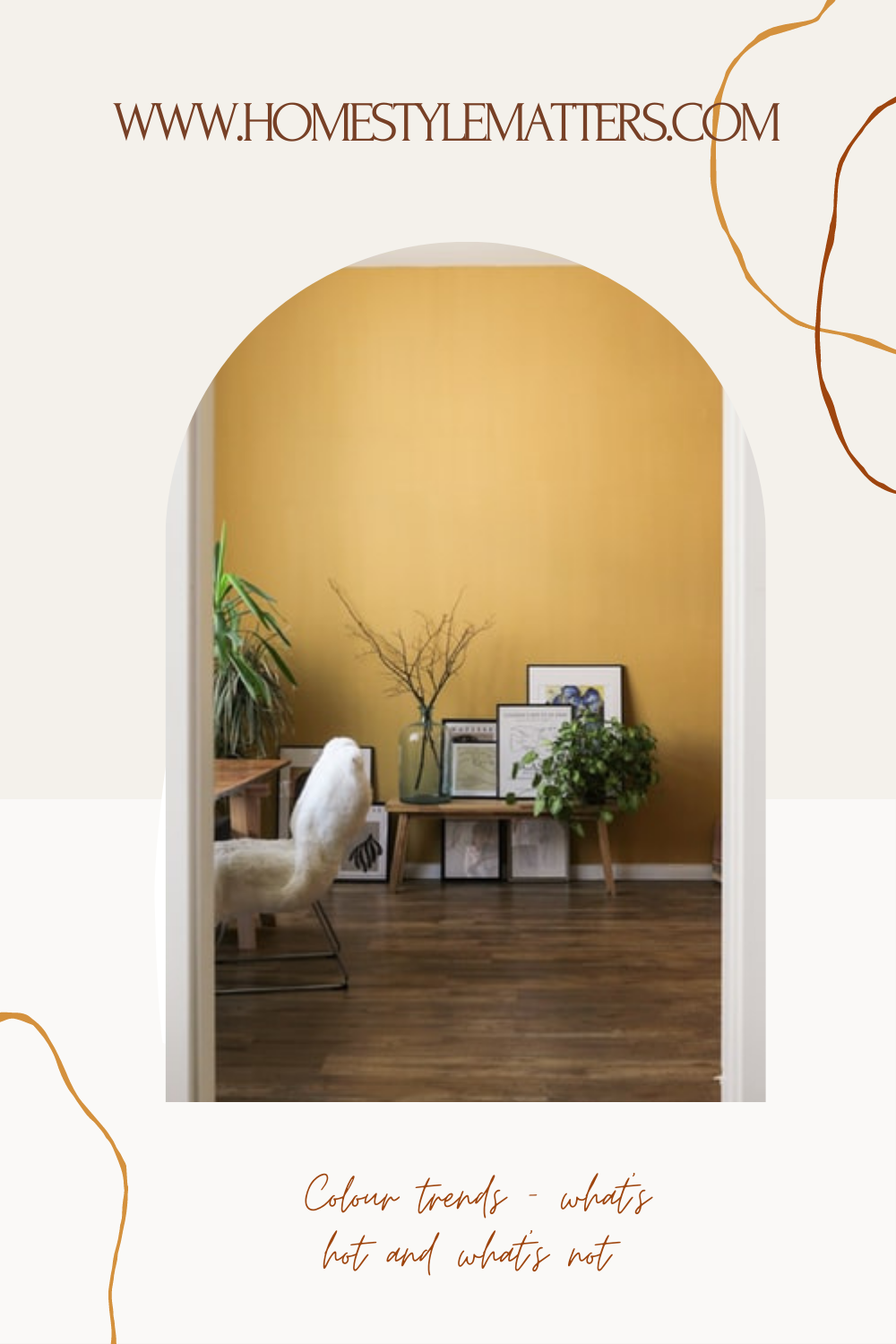 Colour trends - What's hot and what's not 2