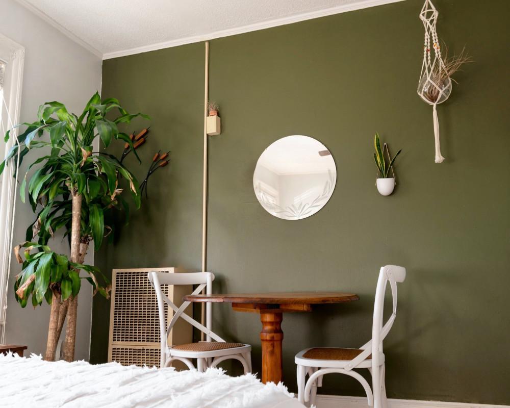 Nature's Own bedroom