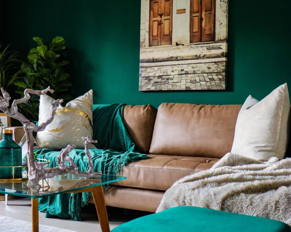 lush green interior