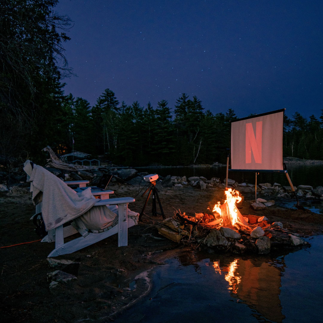 How to style an outdoor cinema at home