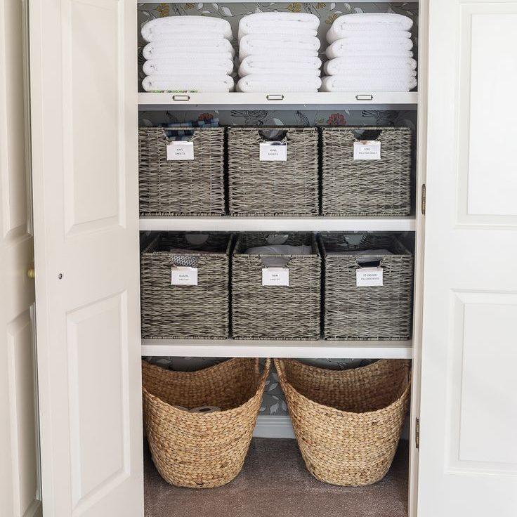 Linen cupboard storage ideas 1