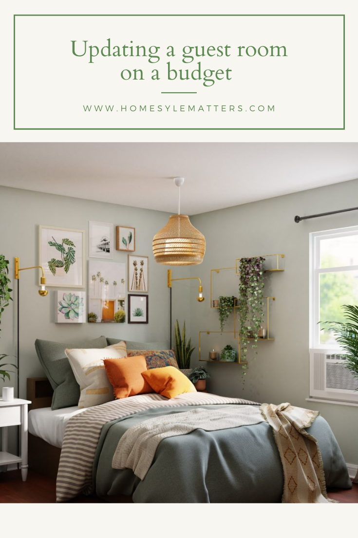 Updating a guest room on a budget 5