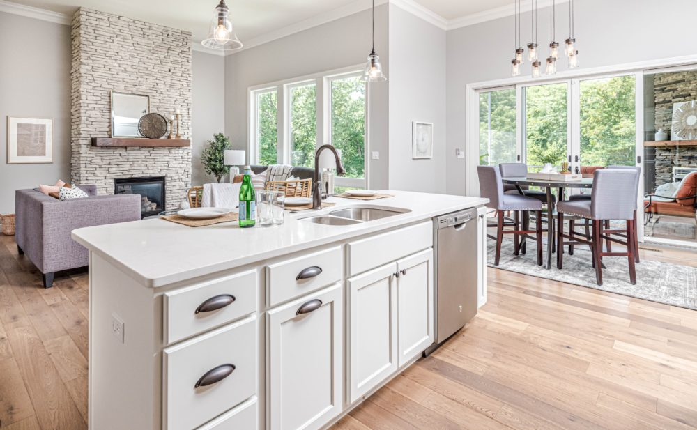 Tips and ideas for open plan living 1
