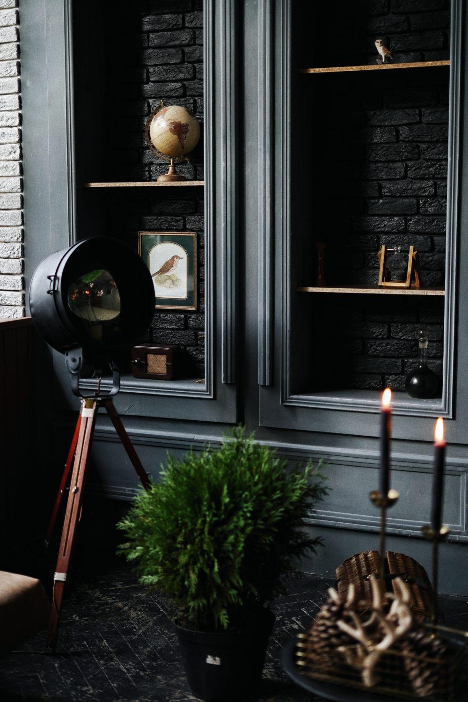 Bold Black Interior Style Tips 3