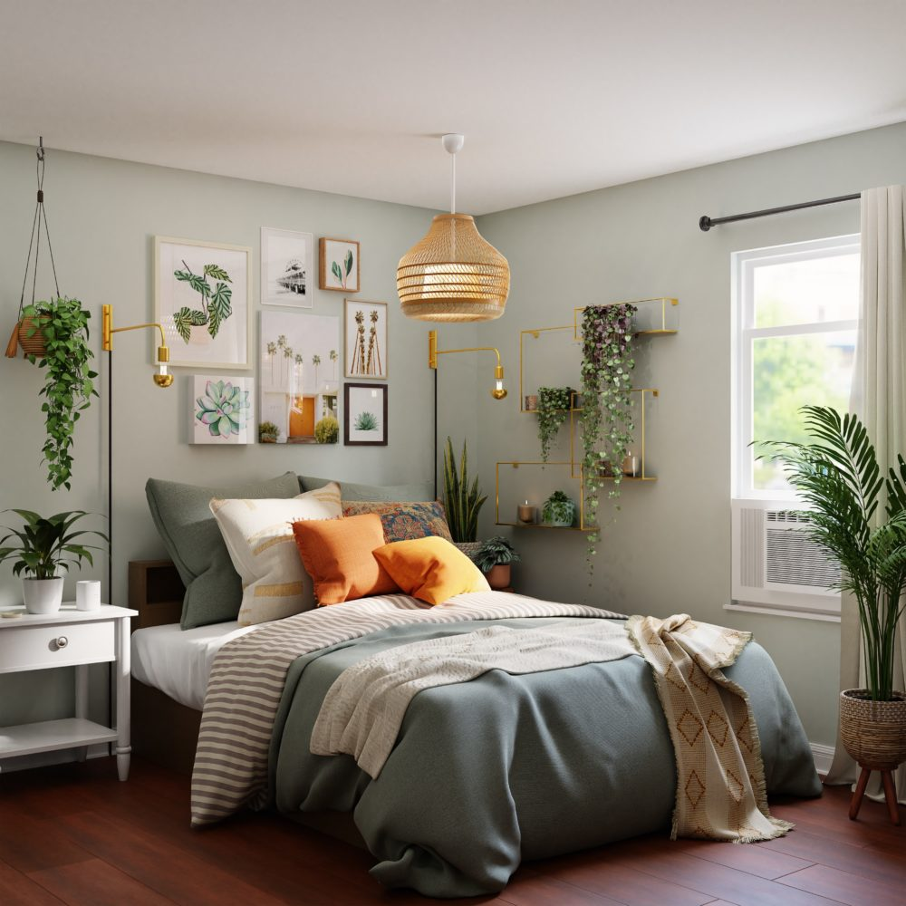 Updating a guest room on a budget 3