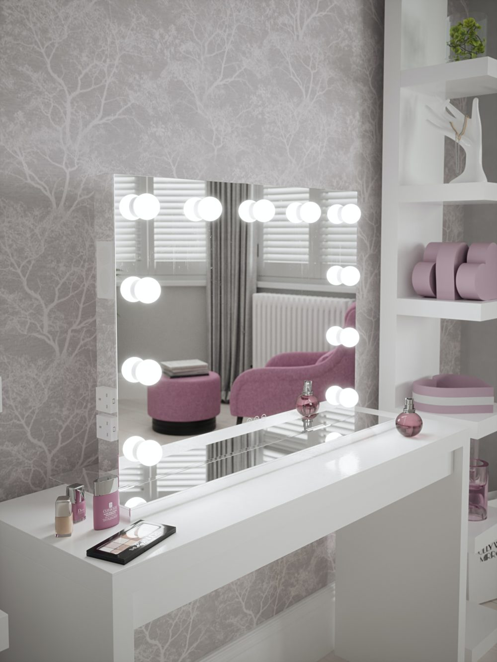 Creating a chic and fashionable dressing area 2