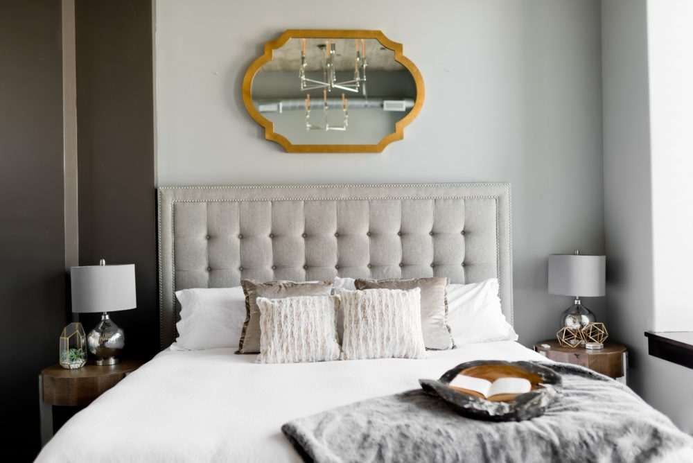 Affordable ways to add glamour to your bedroom 1