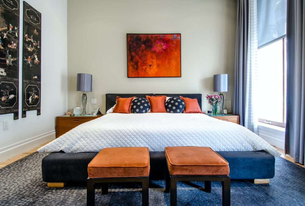 Affordable ways to add glamour to your bedroom 5